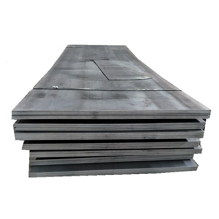 High Quality 2MM Steel Sheet Black Iron Sheet Metal Shipbuilding Steel Plate