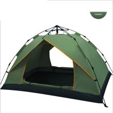 2019 High Quality Easy Set up Folding Bed Camping Tent, 1-2Persons  3-4Persons Family Tent, Outdoor Tent for promotion