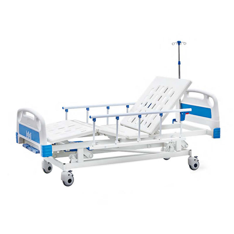 Economical manual bed 3 function mechanical hospital manual bed