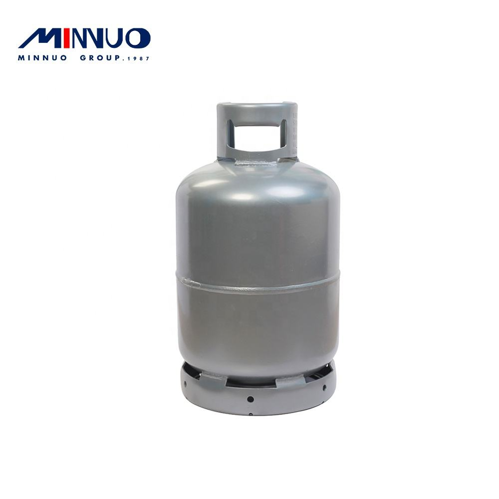 High accuracy easy to use and operate hot sell 12kg lpg gas cylinder with 26.5L water capacity and 3mm wall thickness