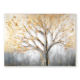 Hotel Decoration handmade glitter tree oil painting on canvas