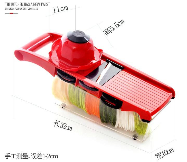 10 in 1 Magic Slicer Multifunction Mandolin Slicer Vegetable Slicer Vegetable Cutter With Container Lid