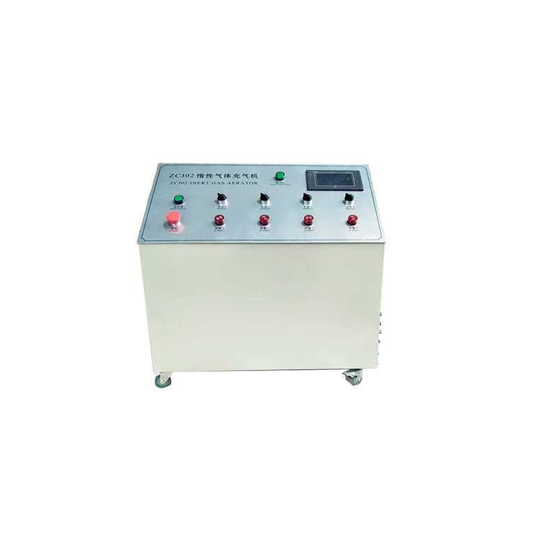 China supplier double glazing glass argon gas filling machine