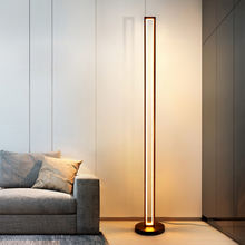 Factory new design strength lighting luxury nordic modern decor corner standing led floor lamp