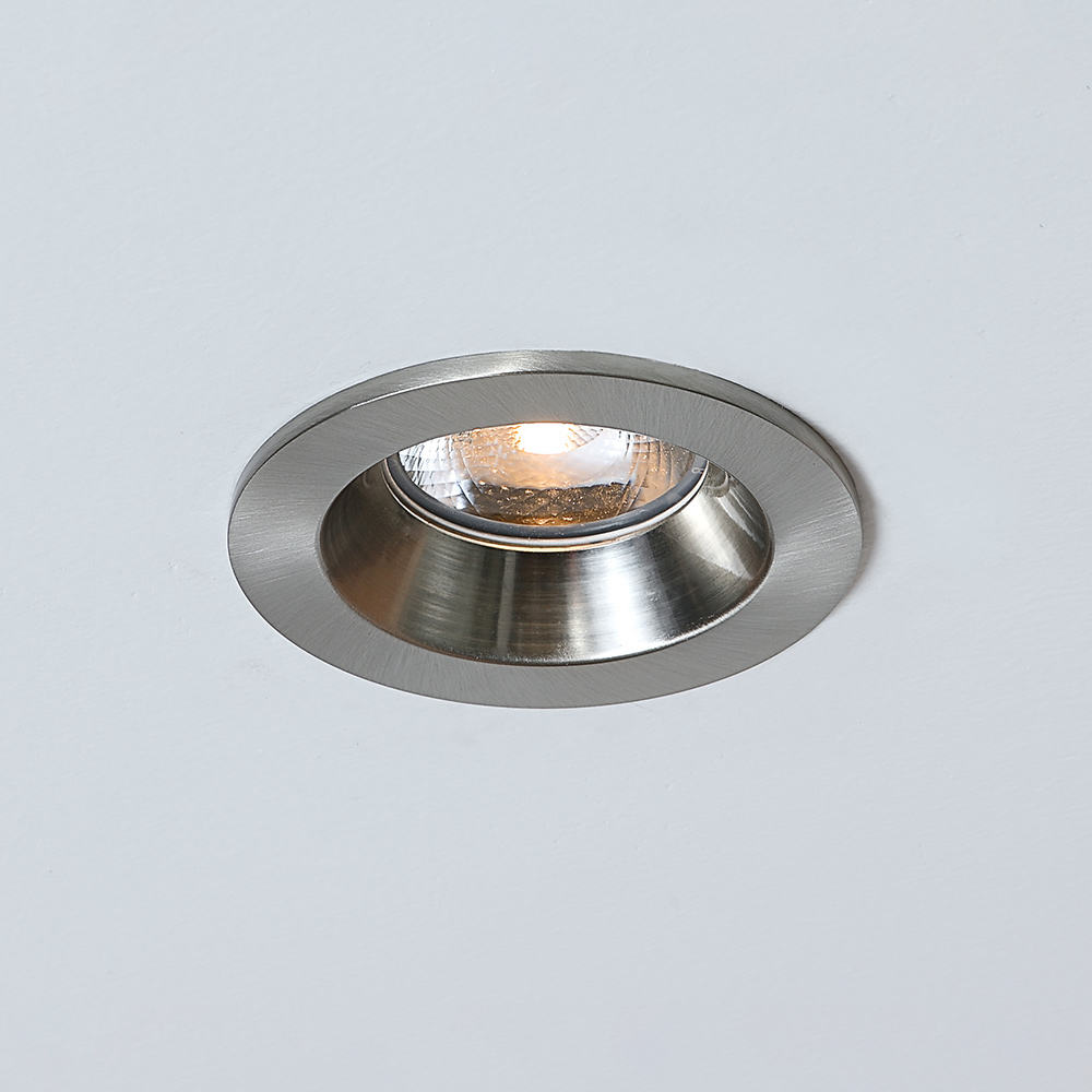 IP65 15W 화재 정격 울트라 슬림 라운드 방수 led 샤워 천장 <span class=keywords><strong>조명</strong></span> Recessed Downlight