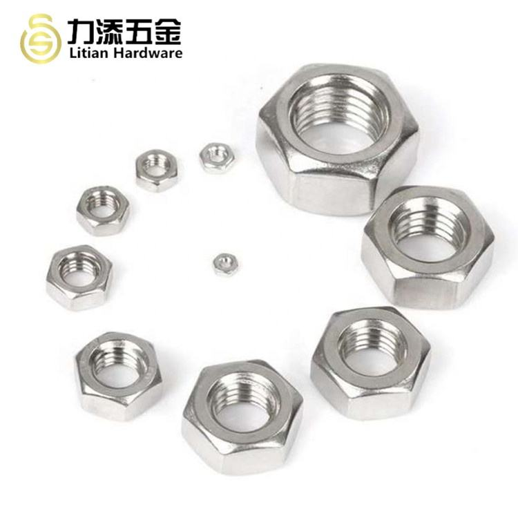 Chinese factory supply hex head flange lock serrated bolt and nut