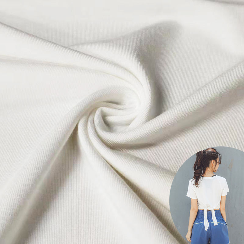 Microfiber 4 way stretch jersey knit wholesale lenzing modal fabric for T-shirt