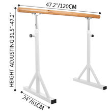 Adjustable Movable Factory Price Ballet Barre Pole For Home