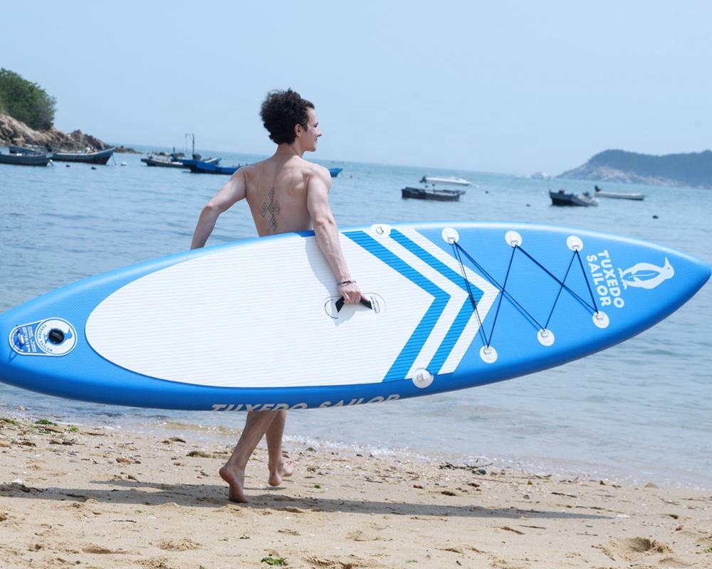 China golden supplier inflatable stand up paddle board egg shape surfboard kayak sup