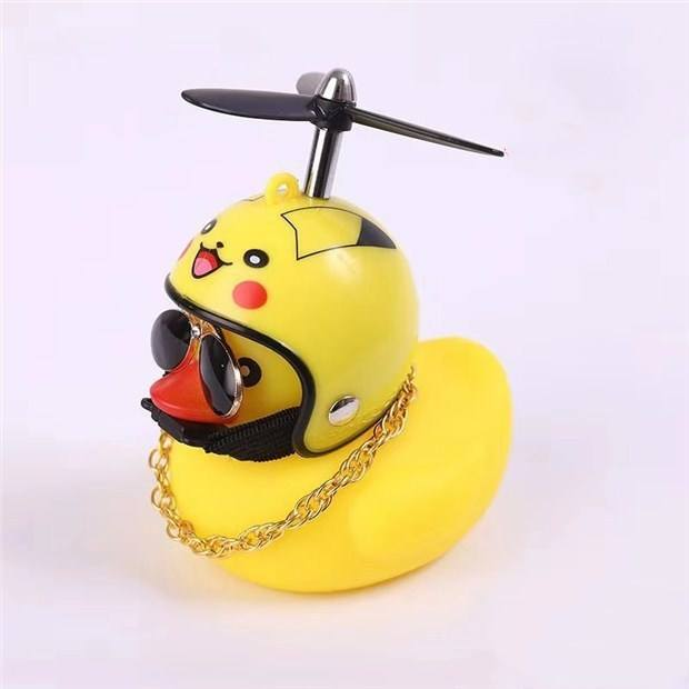 Kids Bike Bell Duck Bicycle HornとBike Light Squeeze Air Horn Loud Quack Sound Decompressionおもちゃマルチサウンドホーン