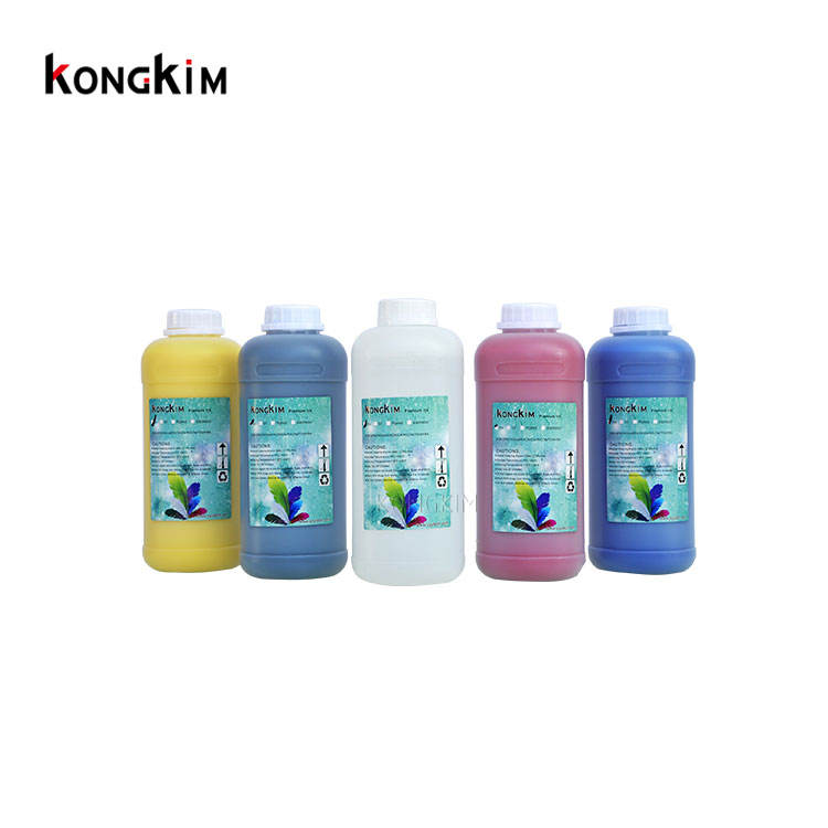 KONGKIM Type A best quality eco solvent tarpaulin inkjet printer ink for DX4/DX5/DX6/DX11 heads