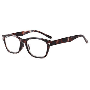 Fashion plastic custom pc Reading Glasses Men Women Blue Light Blocking Prescription Eyeglasses Diopter  1.0~ 4.0