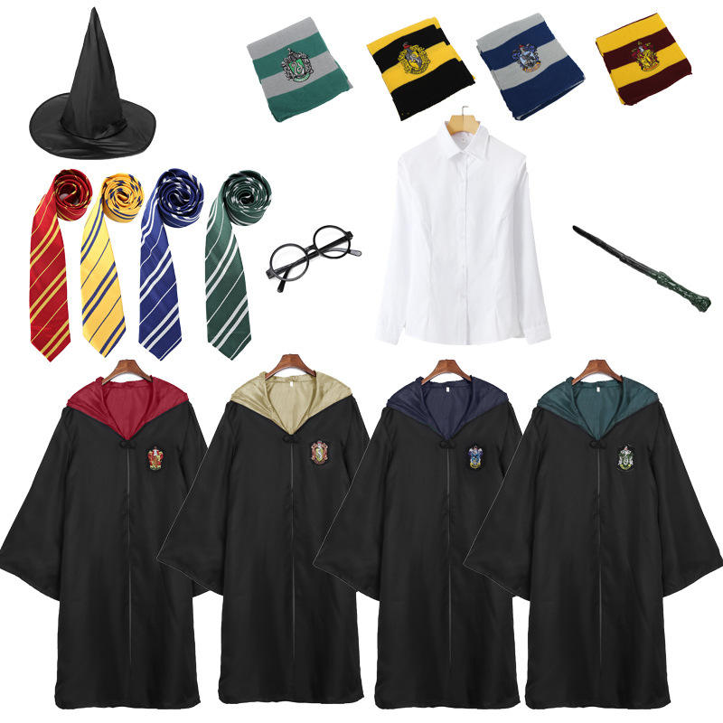 Adult And Children Harry Potter Robe For Halloween Party