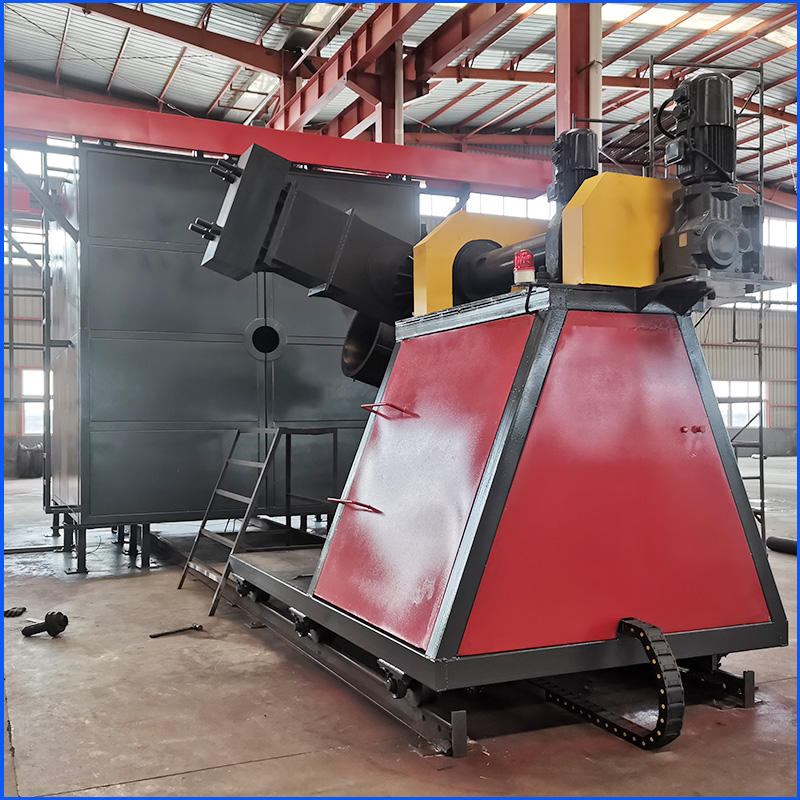 plastic forming Plastic water tank making rotating molding machine