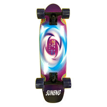 Stocked Custom Printing Wood Canadian Maple Deck Mini Surf Skate Board Completed For Cruiser
