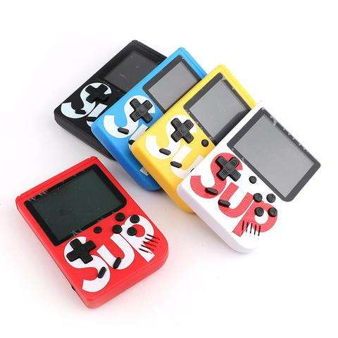 Hot Sale Portable Console Sup Game Box 400 in 1 Plus Multi color 2.8-3 inch LCD Handheld Game Player