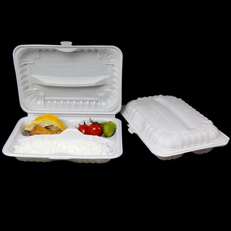 Pp Microwaveable Voedsel Containers Compartiment Lunchbox