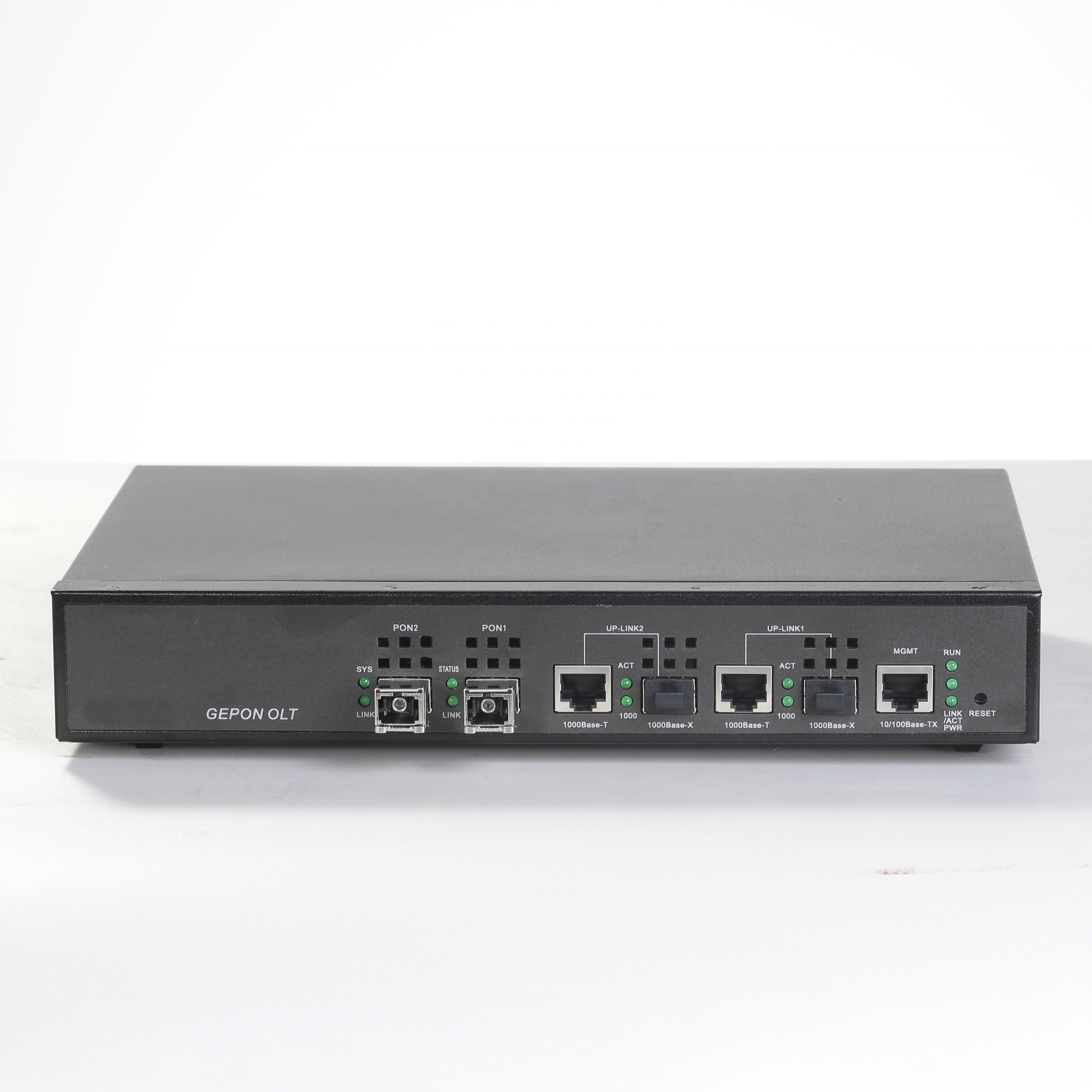 FTTH Cost Effective 2 port GEPON Mini Outdoor OLT with CE Certificate Compatible with Huawei ZTE EPON ONU