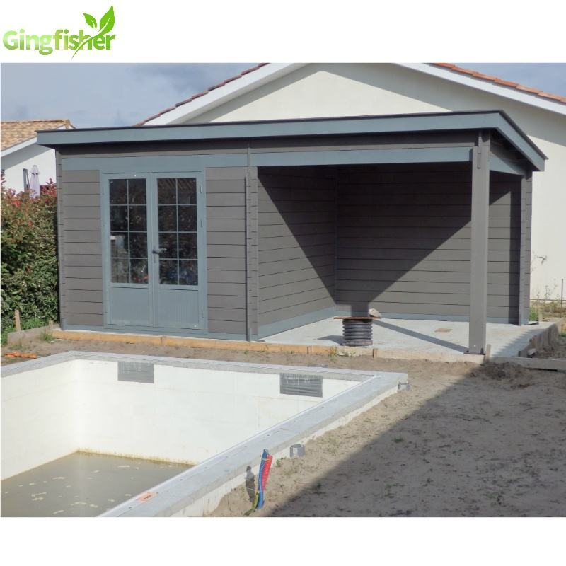 Durable Composite Sheds Garden Portable Building Composite Shed