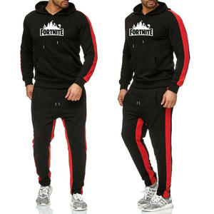 high quality 2 piece custom wholesale mens designer track jogging suit hoodie long sleeve plus size 2020 track suits