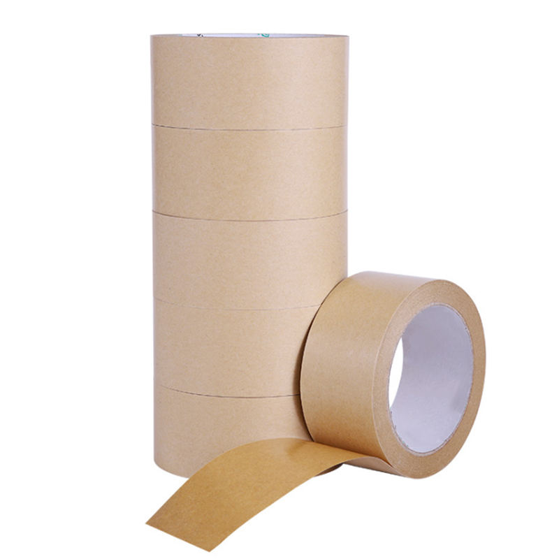 Strong Rubber Glue Self Adhesive Packing Kraft Packaging Gummed Tape