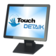 LCD POS Monitor with Touchscreen Panel Capacitive Resistive USB Touch Screen Monitor