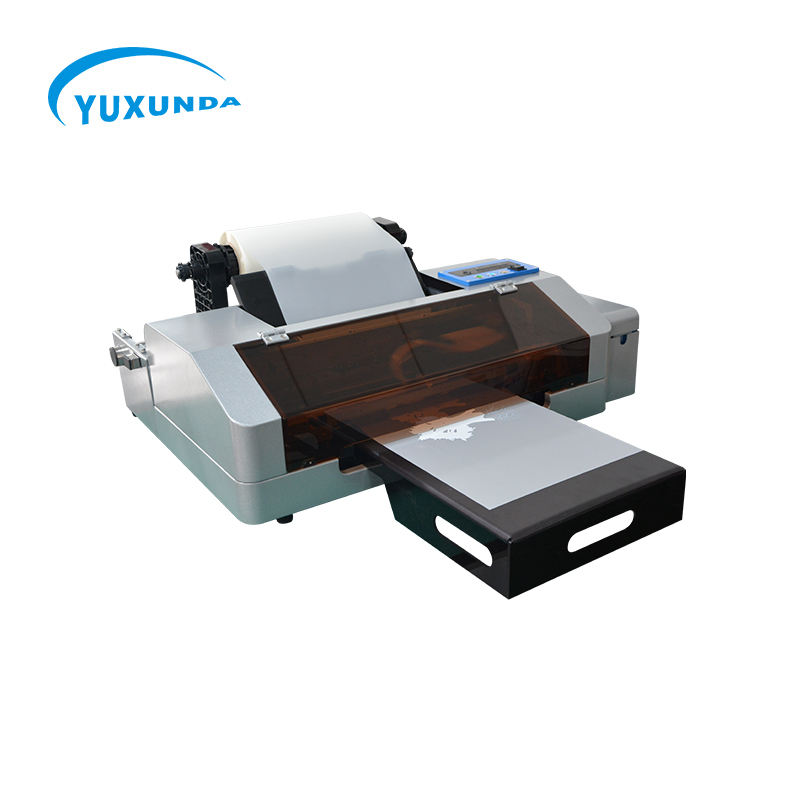 Digitale T-shirt Textiel Drukmachine Warmteoverdracht Huisdier Roll Film Dtf <span class=keywords><strong>Printer</strong></span> Met Epson <span class=keywords><strong>Printer</strong></span>