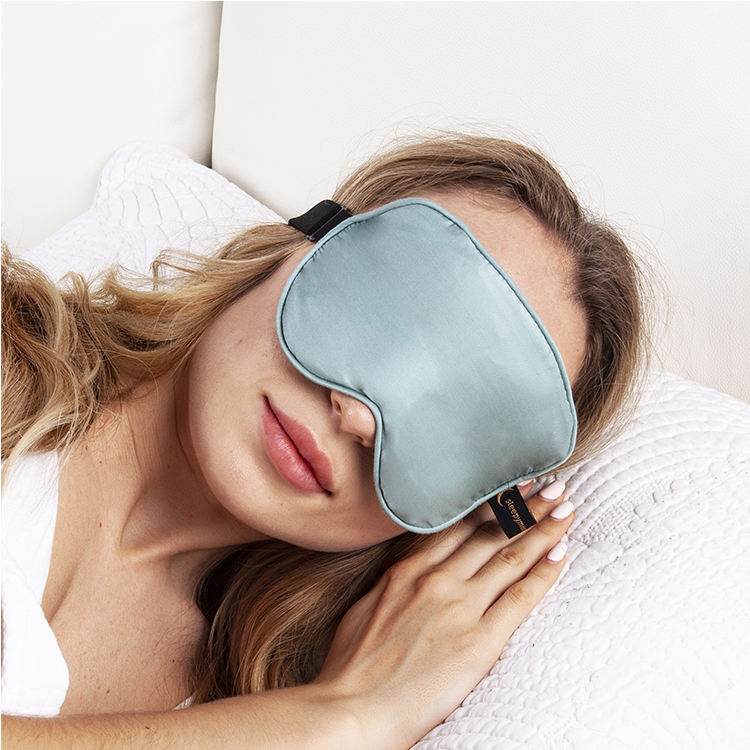 Wholesale Bamboo Sleeping Mask Soft Weighted Eye Mask For Anxiety Relief