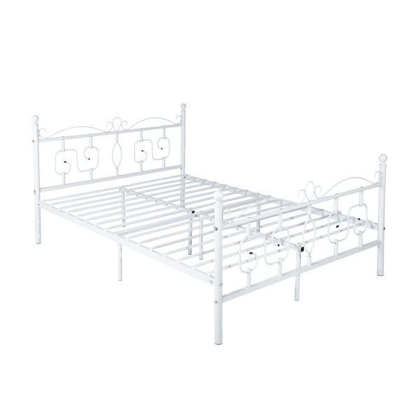 US Stock Conway Metal Frame Bedroom Full Platform Double Bed