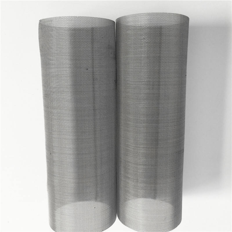 SS 304 316 316l stainless steel wire mesh net water filter cylinder