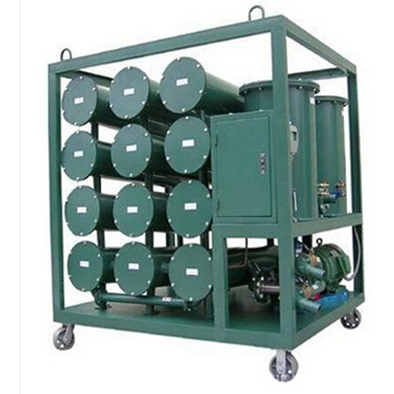 Mini Oil Recycle Equipment Dielectric Oil Dehydration Purifier Transformer Oil Regeneration Machine