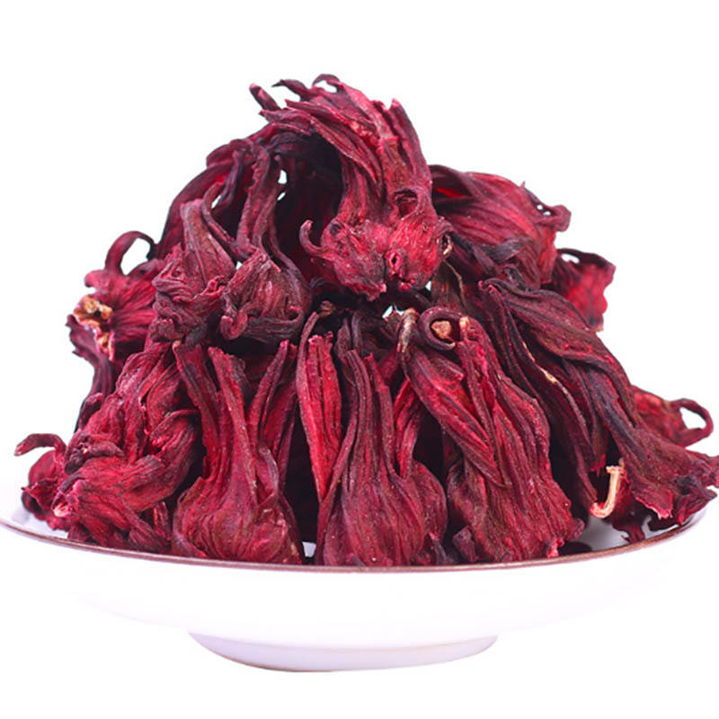 Wholesale organic hibiscus tea dried hibiscus flower tea dry rosella hibiscus