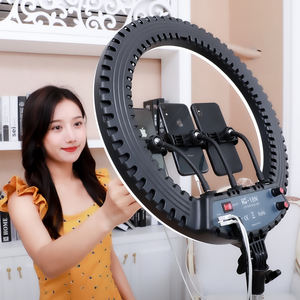 Fabriek Direct Spot Dimbare 18 Inch Make-Up Ring Licht Led Cirkel Selfie Ring Licht Met Mobiele Telefoon Houder Tripod Stand