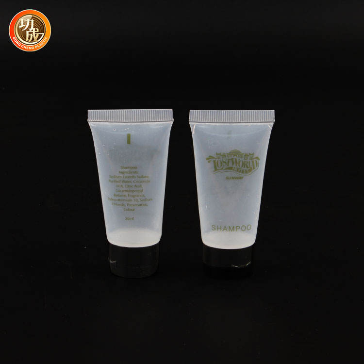 wholesale 20ml transparent hose cosmetic packaging lotion bottles
