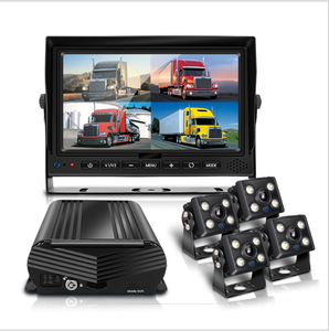 Four Channel Mobile HDCVI DVR With 4G GPS Truck DVR Camera System 1080P HDD MDVR
