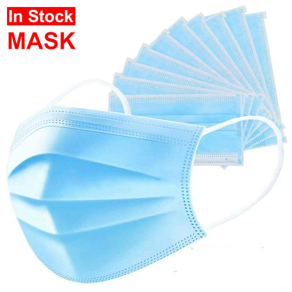 Top quality 3Ply Non Woven Air Anti Virus and Dust disposable Medical Face Mask
