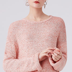 Naivee winter autumn loose pullovers knitting oversized sweaters for women ladies