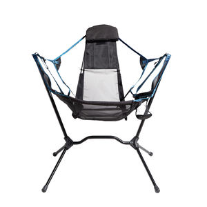 Portable New Recliner Luxury Ultralight Outdoor Telescopic Foldable Canvas Hammock Chair Folding Camping Chair with Bag