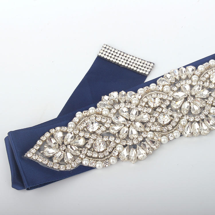 B137 Bride Pearl Flower Floral Headdress Hair Band Headwear Jewelry Ornament