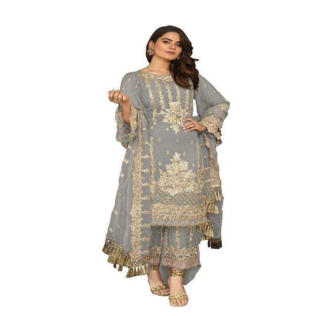 Limited Awesome Pakistani Indian Women Shalwar Kameez Suit Designer Pakistani Dress Party Wear Casual Wear