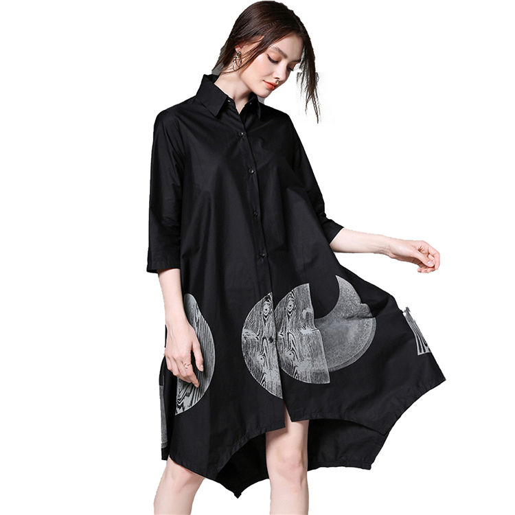 2019 china factory girls skirt export smock pure cotton ladies dress for sale