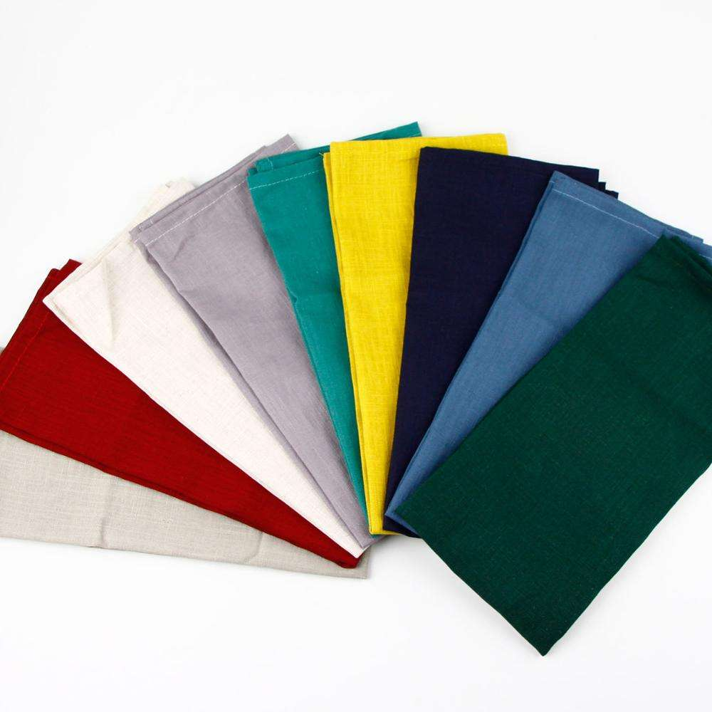 wholesale linen tea towel plain linen kitchen tea towels