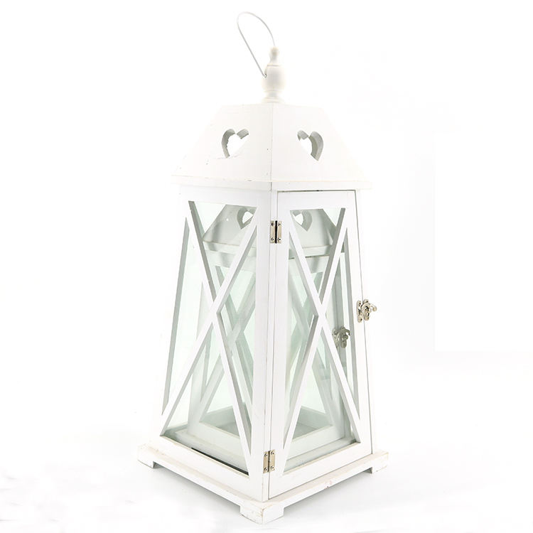 hot selling white lacquered cheap electric shades rechargeable hurricane lamps