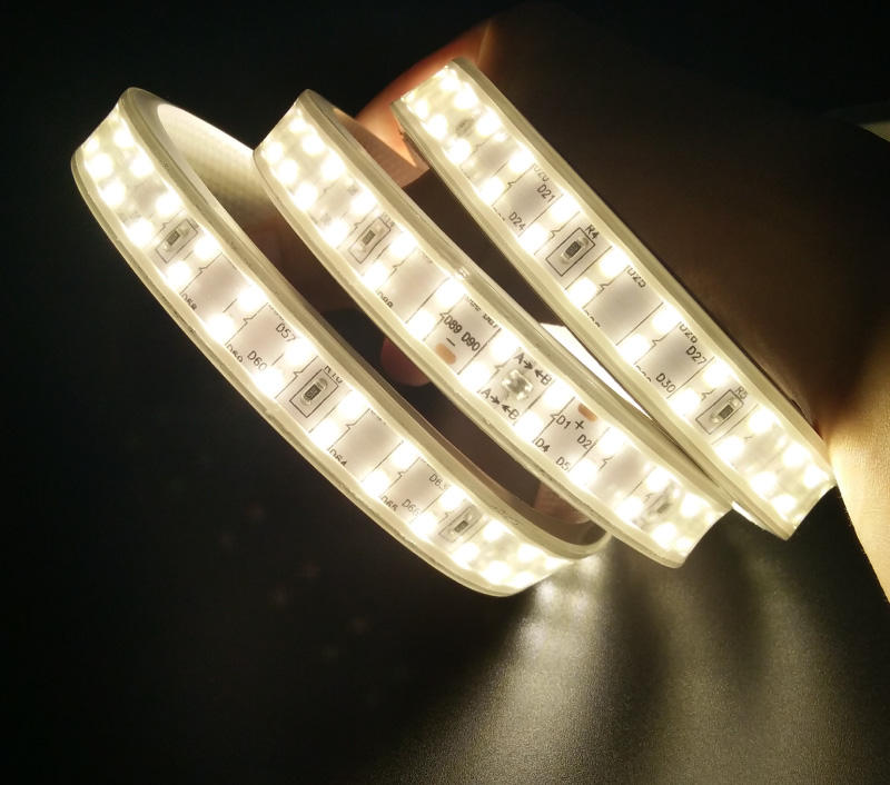 2835 180leds double row Hot Selling Product Ultra Bright Three Rows 2835 SMD on 12MM PCB Light Strip