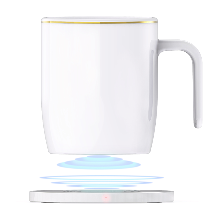 mug warmer bone ceramic white 55 degree electric tea cup