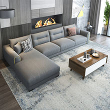 Modern L shaped corner couch  fabric sofa set sectionals loveseats living room sofas