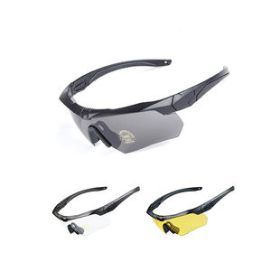 Factory prices ballistic UV eye protective army shooting military glasses