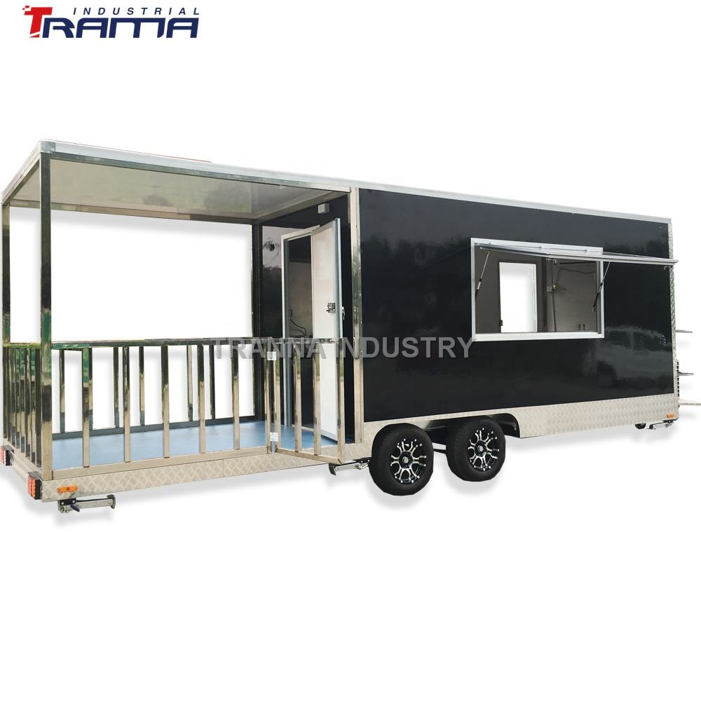 2021 Tranna Industry Windows Sandwich Panel mobile ice cream food truck trailer crepe food car