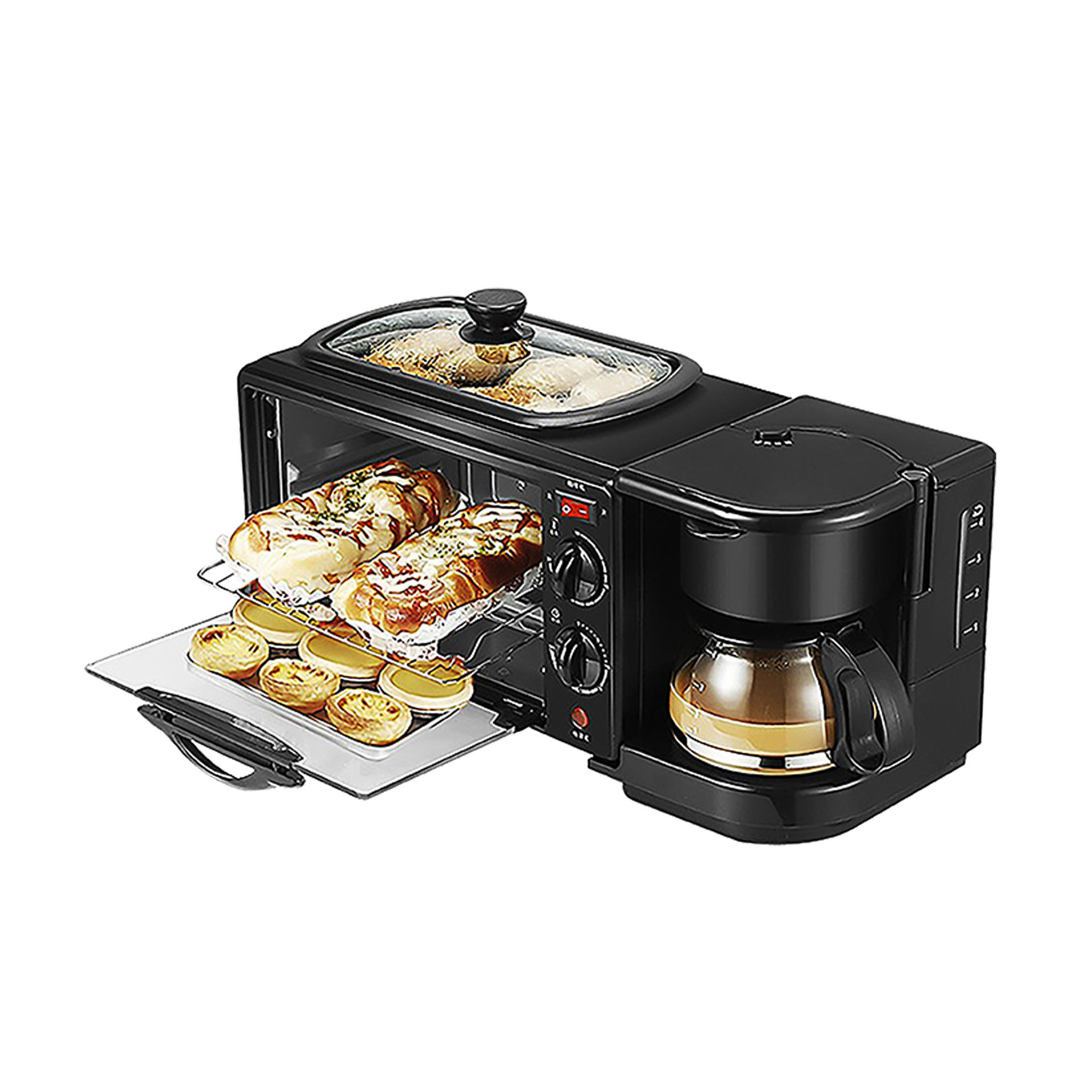 multifunctional breakfast machine coffee and oven all in one