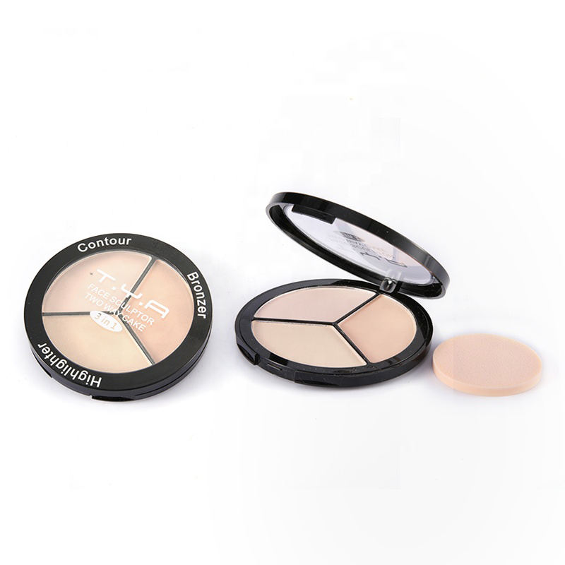 Female [ Compact Powder ] Powder Compact Powder Face Luxury Private Label Professional Compact Powder Makeup Foundation Powder